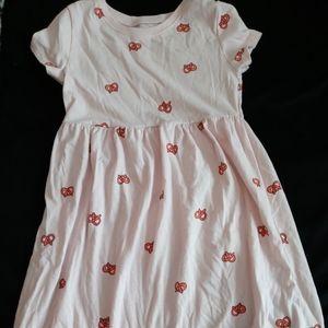 Pretzel Print Tshirt dress